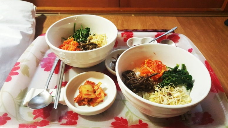 Haemil Hanok Guesthouse Bibimbap Breakfast