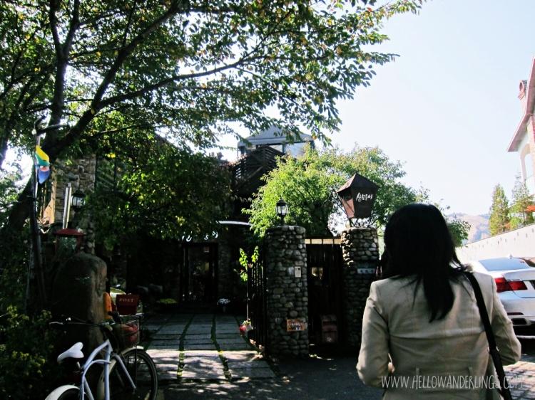 Cafe Paradise Sanmotoonge One Afternoon At Buamdong, Seoul South Korea