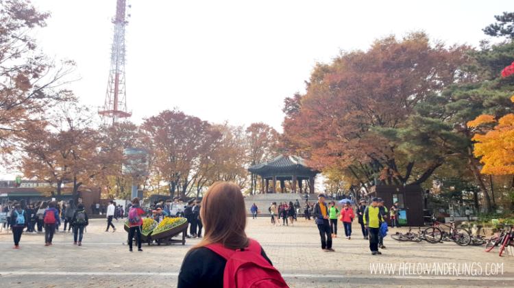 N Seoul Tower Entrance