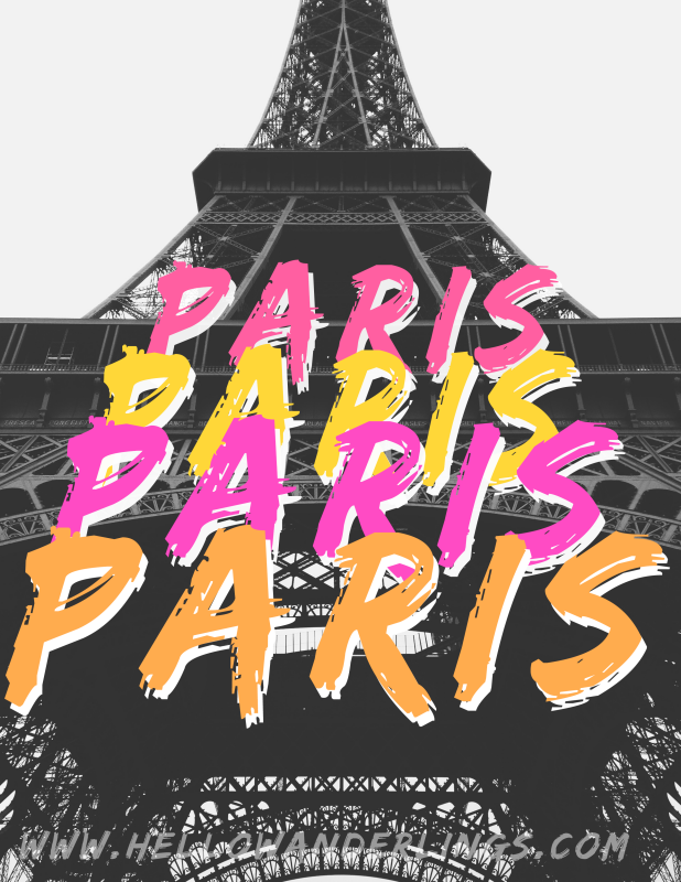 Paris Brush Lettering