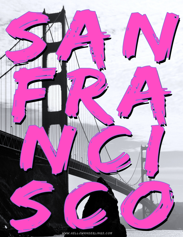 San Francisco Brush Lettering
