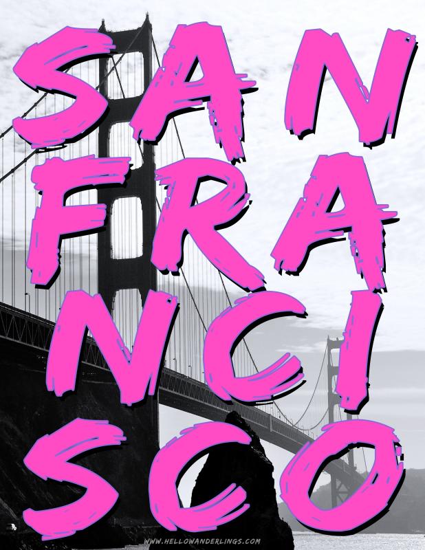 San Francisco Brush Lettering