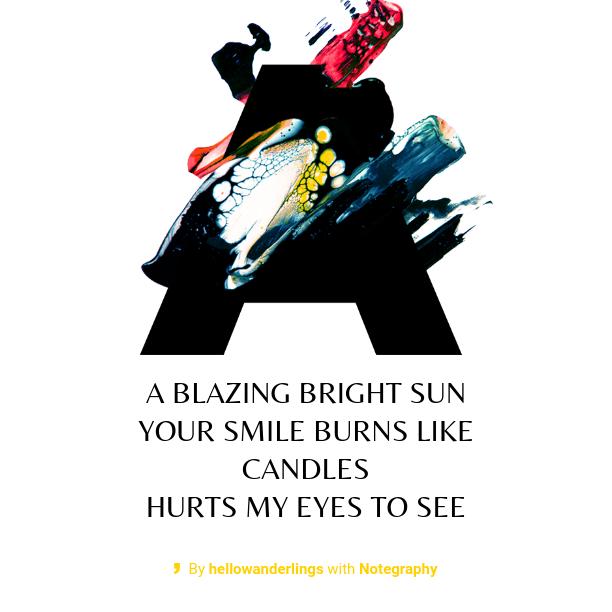 Seis: Blazing Bright Sun Haiku