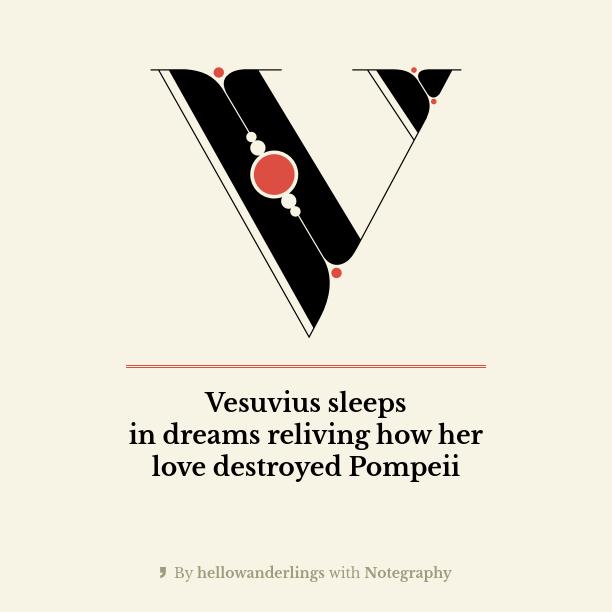 TRESE: Vesuvius Sleeps 100 Day Haiku Challenge
