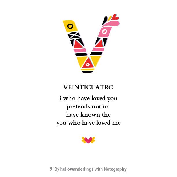 The 100 Day Project Veinticuatro