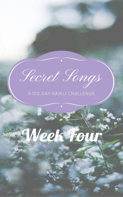 WEEK FOUR Secret Songs-blog
